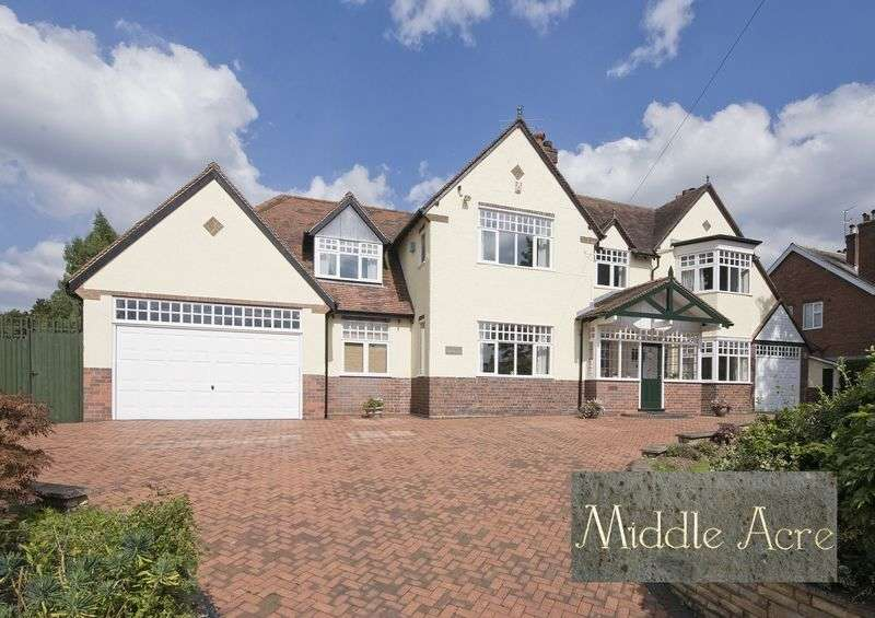 5 Bedrooms Detached House for sale in Middle Acre, Middlefield Lane, Hagley