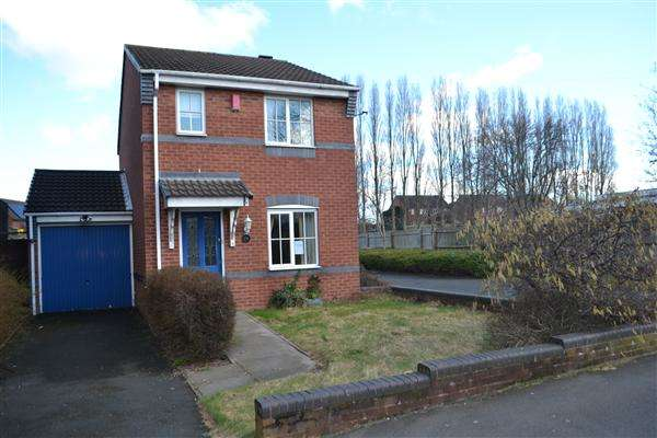 3 Bedrooms Detached House for sale in Springfields, Walsall