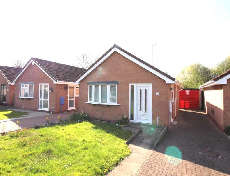 2 Bedrooms Detached Bungalow for sale in The Carousels, Burton-On-Trent, DE14
