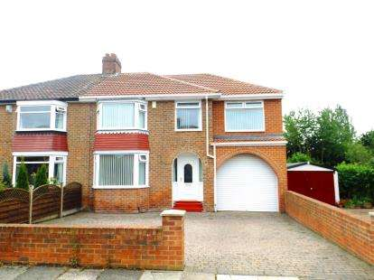 4 Bedrooms Semi Detached House for sale in Farley Drive, Middlesbrough, North Yorkshire