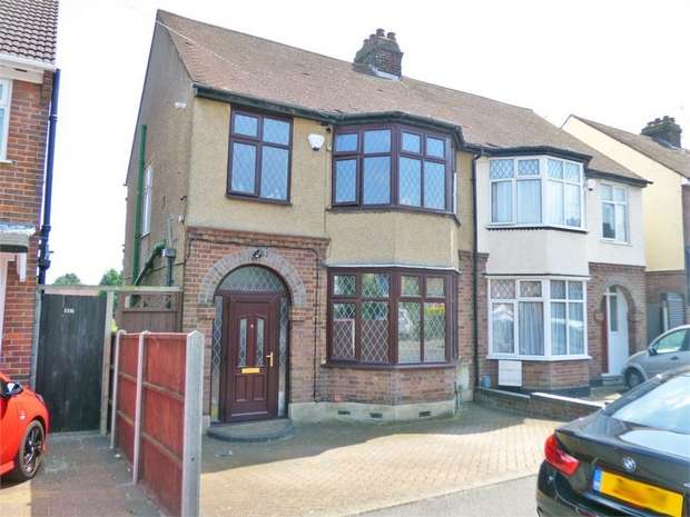 3 Bedrooms Semi Detached House for sale in Gardenia Avenue, Luton, Bedfordshire