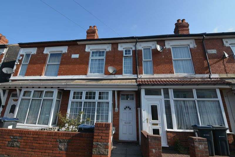 3 Bedrooms Terraced House for sale in Grove Road, Sparkhill, Birmingham, B11 4DE
