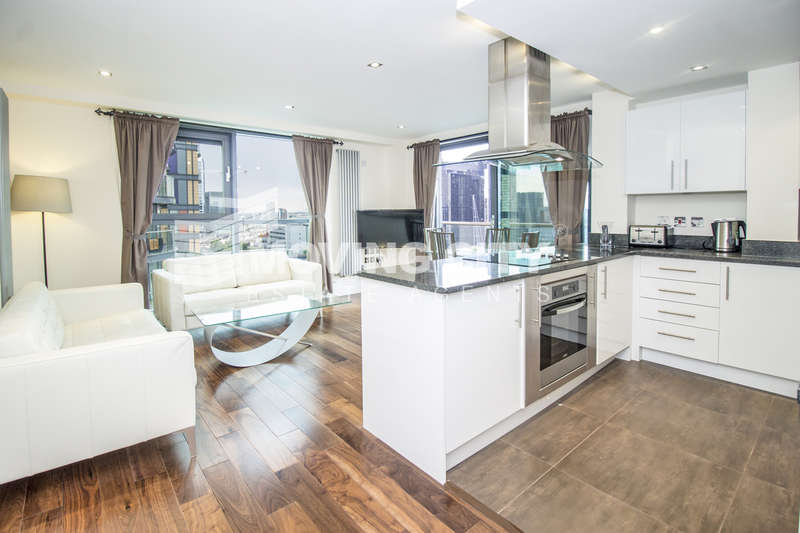 2 Bedrooms Flat for sale in Millharbour, Canary Wharf