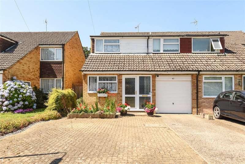 3 Bedrooms Semi Detached House for sale in Reynards Close, Winnersh, Wokingham, Berkshire, RG41