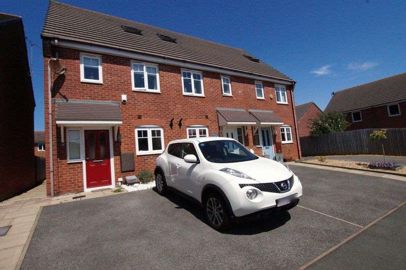 3 Bedrooms Terraced House for sale in Charles Street, Brymbo, Wrexham