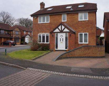 6 Bedrooms Detached House for sale in Stainsby Croft, Shirley, Solihull, West Midlands