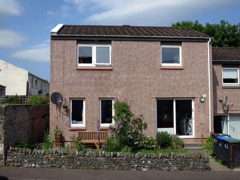 2 Bedrooms Semi Detached House for sale in 42 Damcroft, Peebles