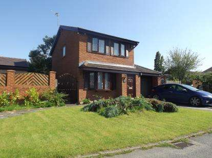 3 Bedrooms Detached House for sale in Adwell Close, Lowton, Warrington, Cheshire