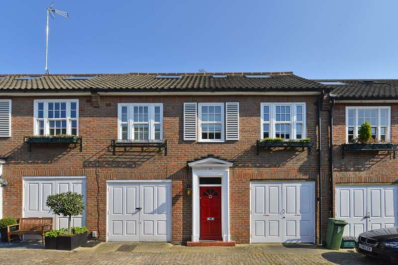 3 Bedrooms Mews House for sale in Fairfax Place, South Hampstead