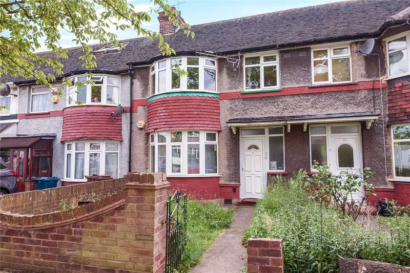 3 Bedrooms Terraced House for sale in Abercorn Crescent, Harrow, Middlesex, HA2