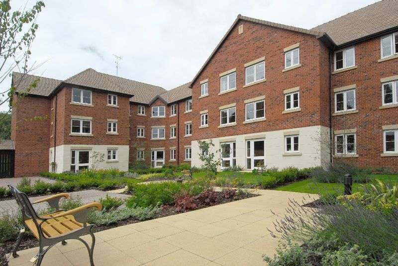 1 Bedroom Retirement Property for sale in Uttoxeter, Mellor Lodge