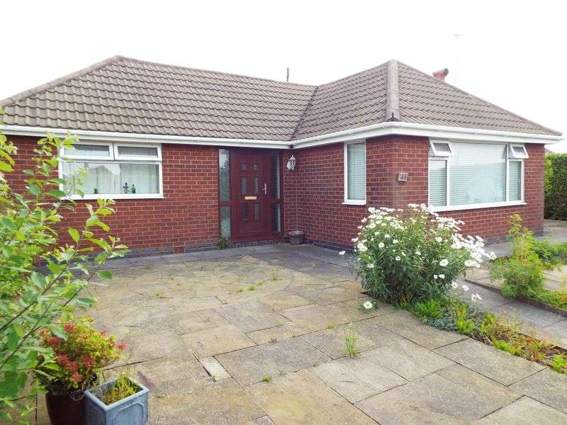 3 Bedrooms Detached Bungalow for sale in Kingsley Road, Talke Pits, Stoke-On-Trent