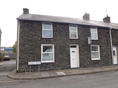 5 Bedrooms End Of Terrace House for sale in Railway Place, Porthmadog, Gwynedd, LL49