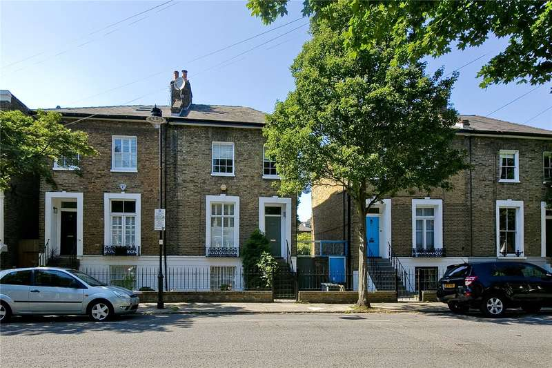 4 Bedrooms Semi Detached House for sale in Morton Road, Canonbury, N1