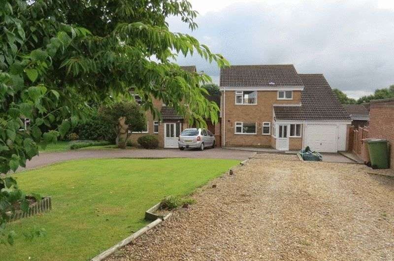 4 Bedrooms Detached House for sale in Cranmere Road, Melton Mowbray