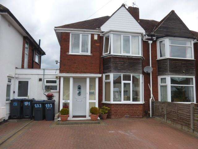 3 Bedrooms Semi Detached House for sale in Lincoln Road North, Acocks Green, Birmingham