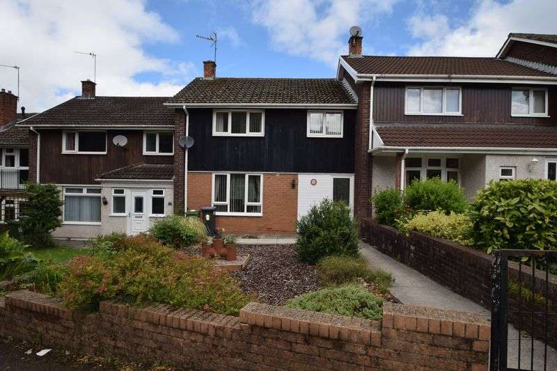 3 Bedrooms Terraced House for sale in 8 Kidwelly Close, LLanyravon, CWMBRAN, Torfaen