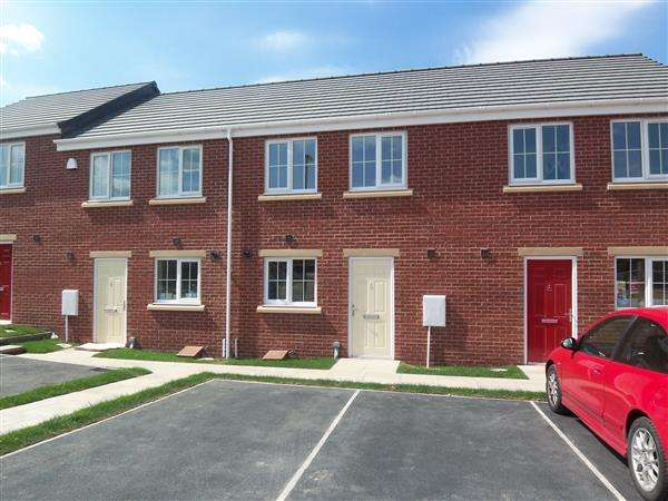 2 Bedrooms Terraced House for sale in Finchale View, West Rainton