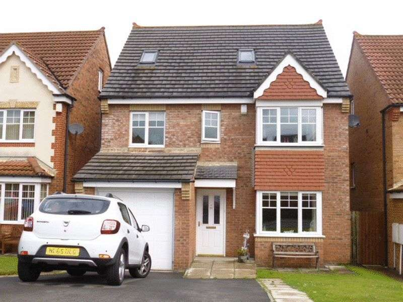 5 Bedrooms Detached House for sale in Prescott Way, Bishop Auckland