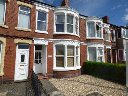 3 Bedrooms Terraced House for sale in New Road, Wrexham, Wrecsam, LL11