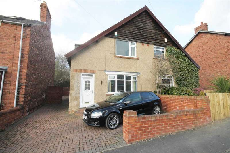 2 Bedrooms Semi Detached House for sale in Lowes Barn Bank, Durham