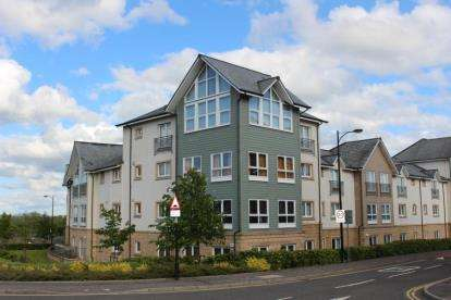 2 Bedrooms Flat for sale in Chandlers Court, Stirling