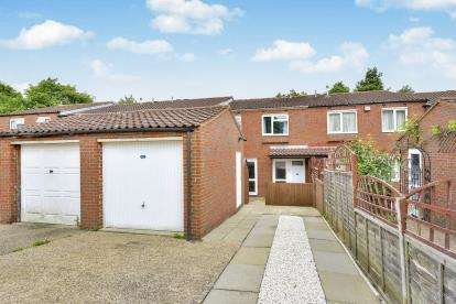 3 Bedrooms Terraced House for sale in Wealdstone Place, Springfield, Milton Keynes
