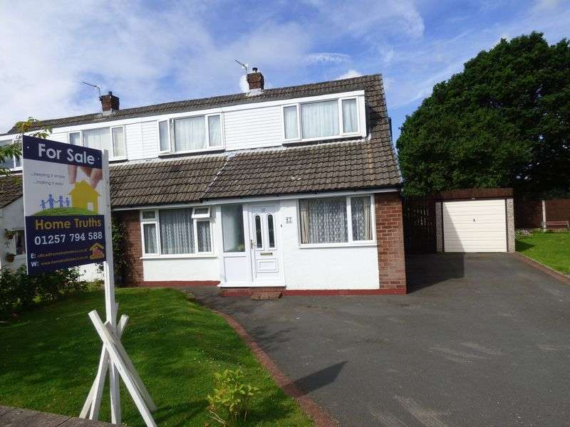4 Bedrooms Semi Detached House for sale in 97 The Hawthorns, Eccleston, PR7 5QN