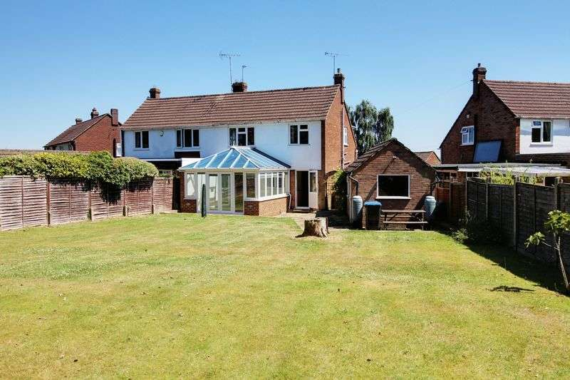 3 Bedrooms Semi Detached House for sale in Cranfield Crescent, Cuffley