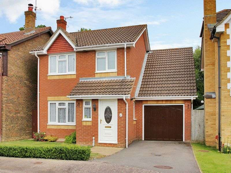 3 Bedrooms Detached House for sale in Fowler Close, Maidenbower, Crawley, West Sussex