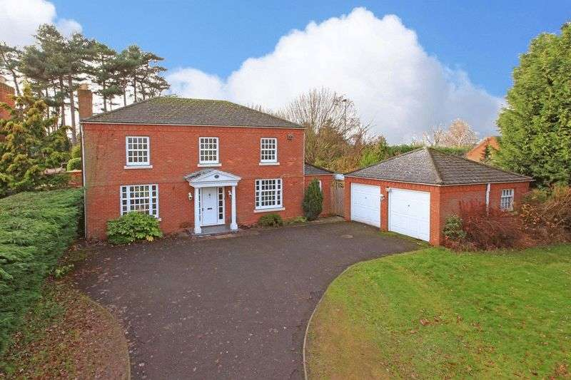 4 Bedrooms Detached House for sale in Linden House, Admaston Spa, Admaston, Telford, Shropshire, TF5 0DJ