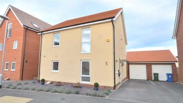 4 Bedrooms Detached House for sale in Jaguar Lane, Bracknell, Berkshire