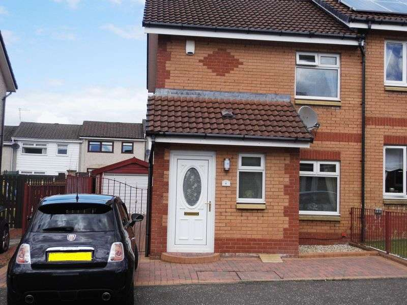 2 Bedrooms Semi Detached House for sale in Dundonald Crescent, Old Monkland, Coatbridge