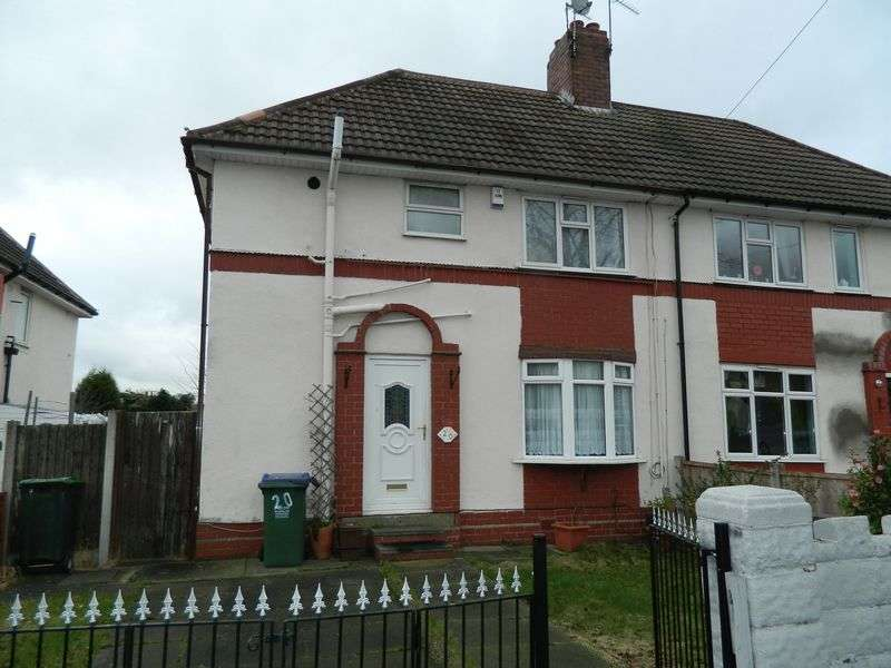 3 Bedrooms Semi Detached House for sale in Price Road, Wednesbury