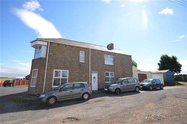 4 Bedrooms Semi Detached House for sale in Front Street, Old South Moor, Stanley