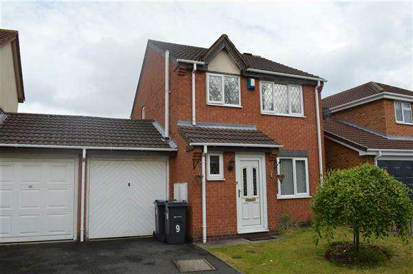 3 Bedrooms Detached House for sale in Morris Close, Acocks Green, Birmingham