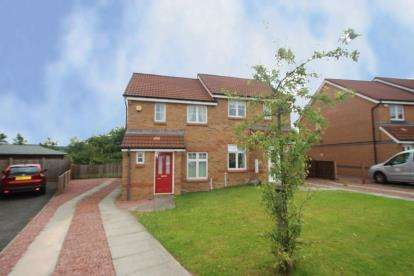 2 Bedrooms Semi Detached House for sale in Lammermuir Way, Chapelhall, Airdrie, North Lanarkshire