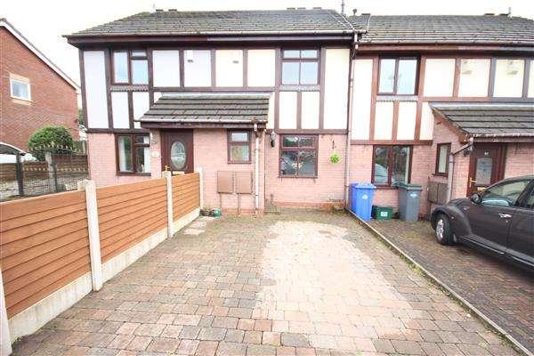 2 Bedrooms Town House for sale in Copplestone Grove, Meir Hay, Stoke on Trent