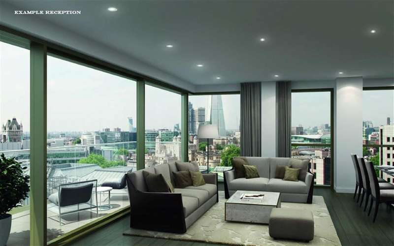 1 Bedroom Property for sale in Rosemary Place, Royal Mint Gardens, The City, London