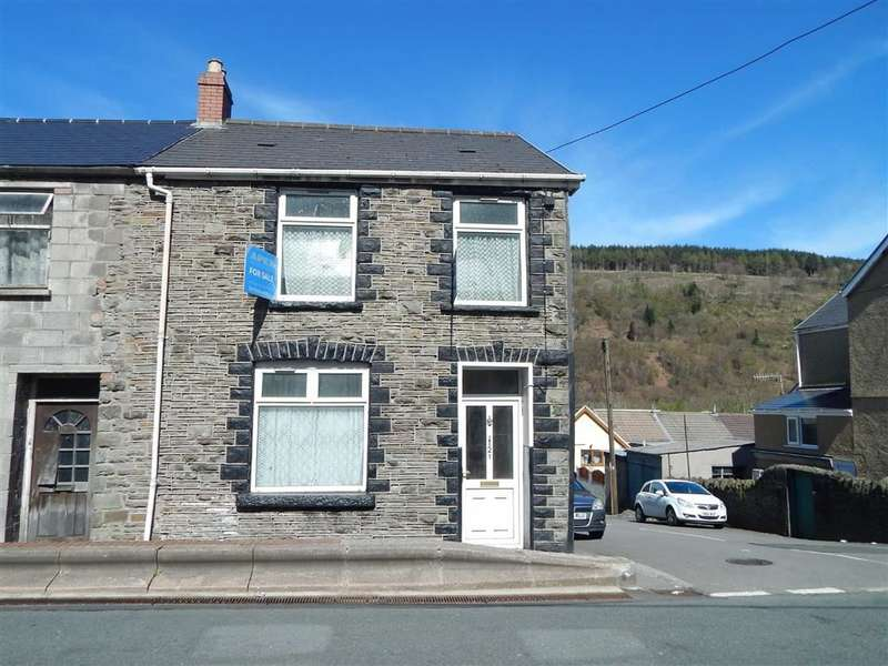 3 Bedrooms Property for sale in Penrhiwceiber Road, Mountain Ash, Rhondda Cynon Taff