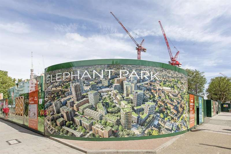2 Bedrooms Flat for sale in South Garden Mansions, Elephant Park, Elephant & Castle, London SE17