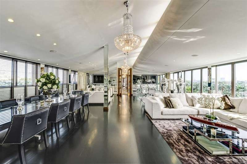 3 Bedrooms Flat for sale in Petersham House, London