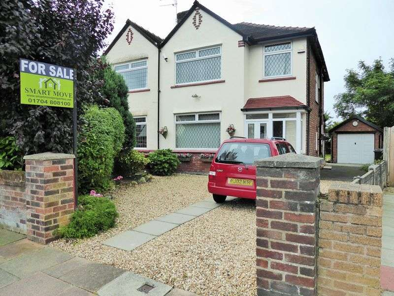 3 Bedrooms Semi Detached House for sale in Lexton Drive, Churchtown, Southport