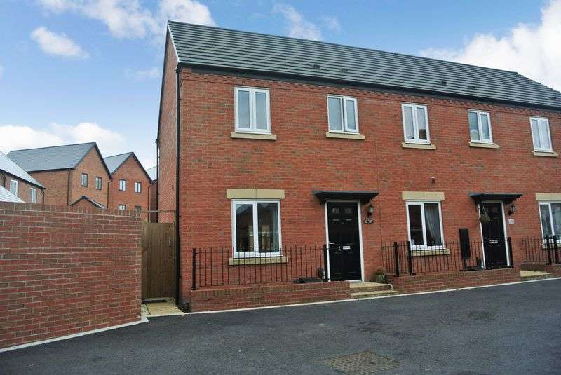 2 Bedrooms Terraced House for sale in Candlin Way, Lawley Village, Telford, Shropshire.