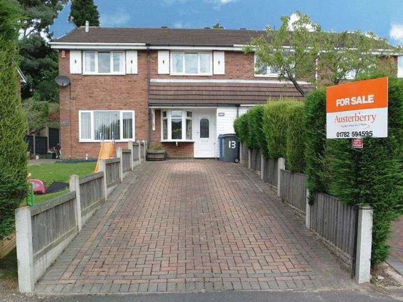 2 Bedrooms House for sale in Applegarth Close, Fenpark, Stoke-On-Trent, ST4 3RN