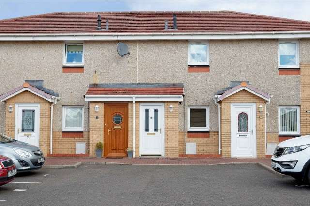 2 Bedrooms Flat for sale in Rosehall Road, North Lanarkshire, Shotts, ML7 4BW