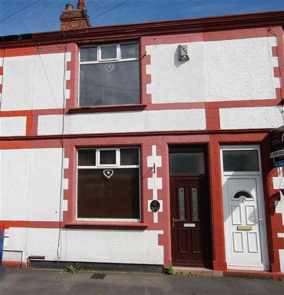 2 Bedrooms Terraced House for sale in Princes Road, Preston