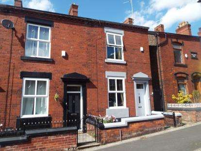 2 Bedrooms End Of Terrace House for sale in Pickford Lane, Dukinfield, Greater Manchester