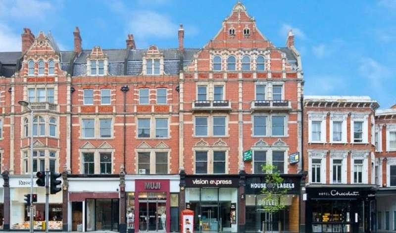 2 Bedrooms Flat for sale in Kensington High Street, Kensington