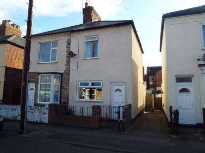 2 Bedrooms Semi Detached House for sale in Nelson Street, Long Eaton, Nottingham